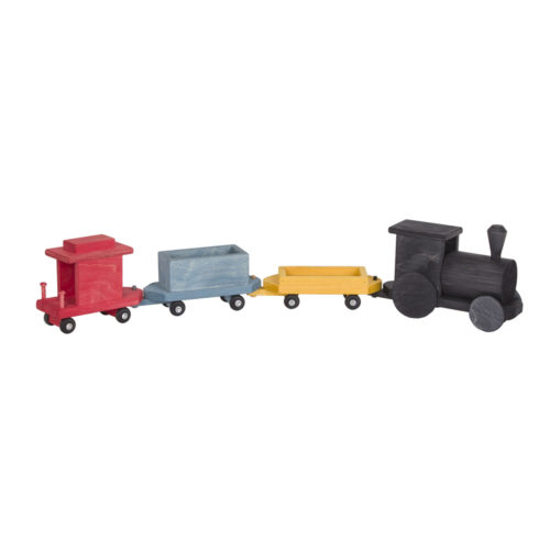 Large Toy Freight Train